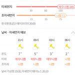 중국 높이 100m 모래폭풍 공기질 지수 6등급