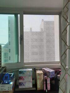 홍제동 한화 아파트 티엔나노방진망 설치 (2)