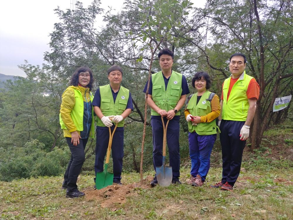 소래산 환경정화 나무심기 산불예방 (1)