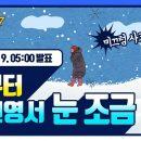 [날씨예보07] 2월 9일 5시 발표, 밤부터 강원영서 눈 조금
