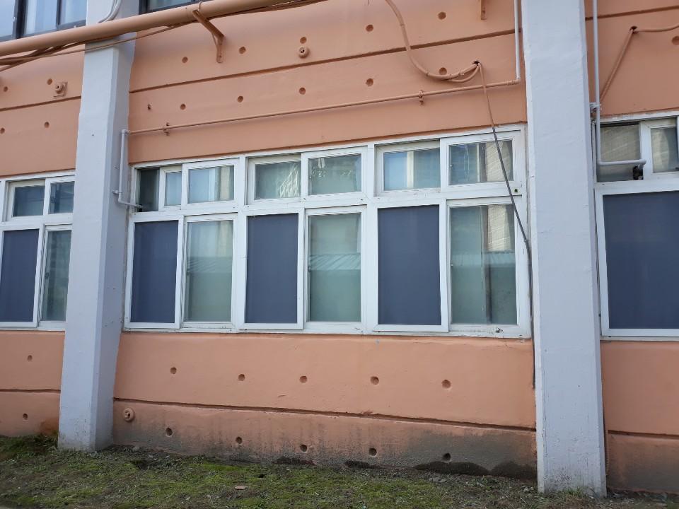 인천 전자 마이스터 고등학교 티엔 나노방진망 교체 시공